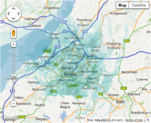 4g map of bristol