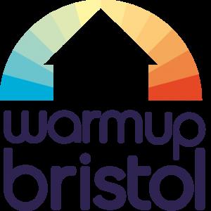 Warm up Bristol logo
