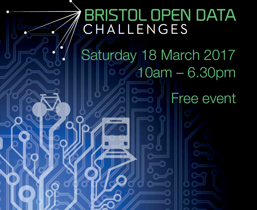 Bristol Open Data Challenge event – Book your place today