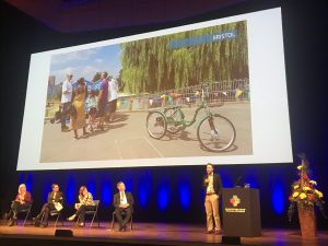 REPLICATE PROJECT MANAGER ON STAGE AT EUROCITIES 2020