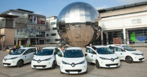 Electric Vehicle Fleet in Bristol